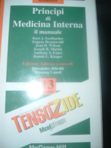 9788838624322: Harrison. Principi di medicina interna. Manuale