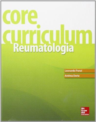 9788838639630: Core curriculum. Reumatologia