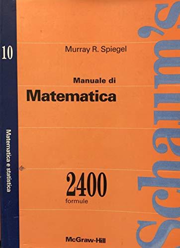 9788838650154: Manuale di matematica