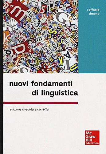 9788838669217: Nuovi fondamenti di linguistica