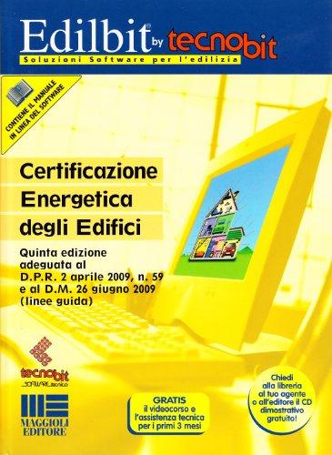9788838735257: Certificazione energetica degli edifici. Con CD-ROM