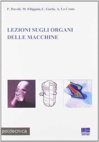 9788838741654: Lezioni sugli organi delle macchine