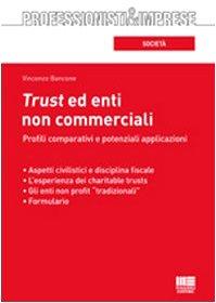 9788838751660: Trust ed enti non commerciali. Profili comparativi e potenziali applicazioni