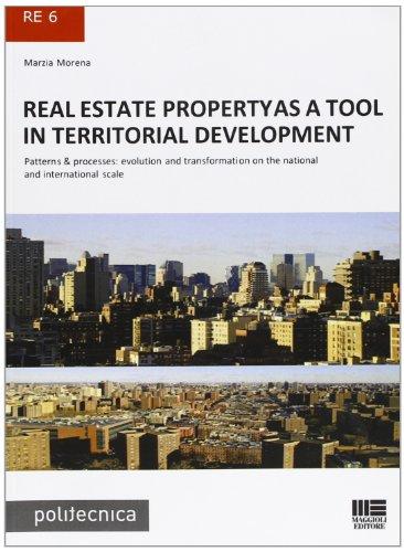 9788838760129: Real estate propertyas a tool in territorial development (Politecnica)