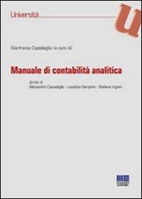 9788838768958: Manuale di contabilità analitica (Università)