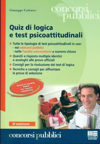 Quiz di logica e test psicoattitudinali: Cotruvo, Giuseppe