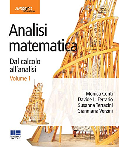 9788838785634: Analisi matematica. Dal calcolo all'analisi: 1