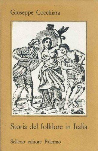 9788838900327: Storia del folklore in Italia