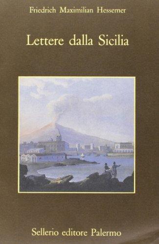 Lettere dalla Sicilia.: Hessemer,Friedrich Maximilian.