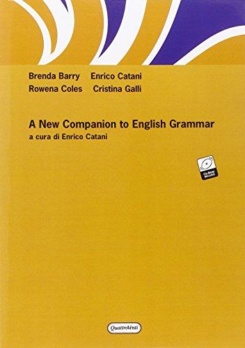 9788839207746: New companion to english grammar. Con CD-ROM