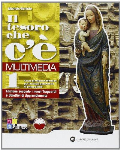 9788839302526: Il tesoro che c'è. Multimedia. Per la Scuola media. Con espansione online: TESORO CHE C'E' MULT 1 +LD