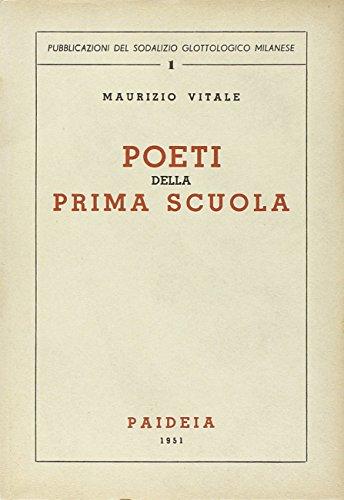 Poeti della prima scuola (8839401059) by Maurizio Vitale