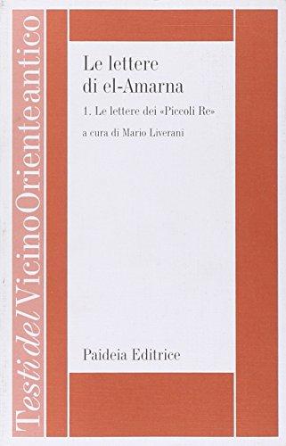 9788839405654: Le lettere di el-Amarna (Testi del Vicino Oriente antico) (Italian Edition)