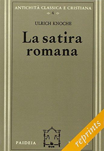 9788839406941: La satira romana
