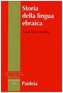 Storia della lingua ebraica: Saenz-Badillos, Angel