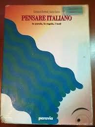 9788839503510: Pensare italiano. Le parole, le regole, i testi. Grammatica della lingua italiana per la Scuola media. Con test d'ingresso