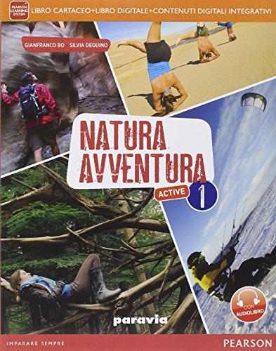 9788839518422: Natura avventura. Con LaboratorioLIM. Per la Scuola media. Con e-book. Con espansione online. Con libro: 1
