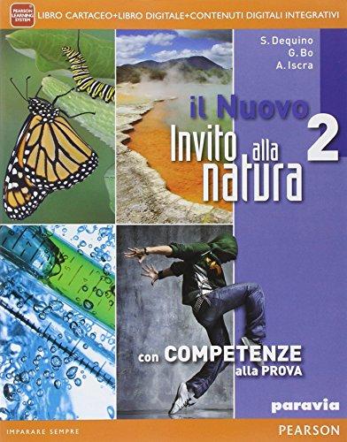 9788839521460: Nuovo invito alla natura. Per la Scuola media. Con e-book. Con espansione online: 2