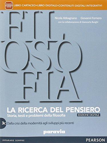 9788839522351: Ricerca del pensiero. Vol. 3C. Per le Scuole superiori. Con e-book. Con espansione online