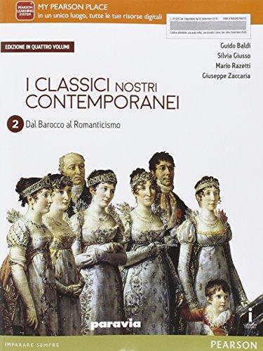 9788839526601: Classici nostri contemporanei. Per le Scuole superiori. Con e-book. Con espansione online (Vol. 2)