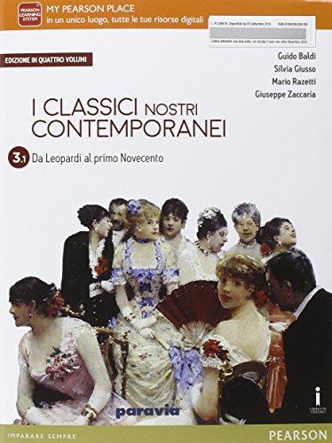 9788839526618: Classici nostri contemporanei. Vol. 3/1. Per le Scuole superiori. Con e-book. Con espansione online