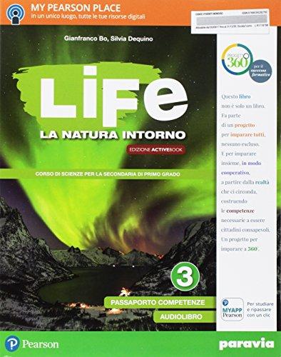9788839528278: Life. La natura intorno. Per la Scuola media. Con e-book. Con 2 espansioni online: 3