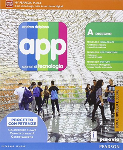 9788839528568: App. Scenari di tecnologia. Con A scuola di coding. Per la Scuola media. Con e-book. Con espansione online