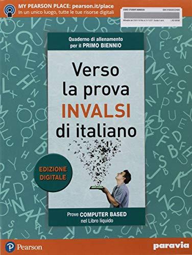 9788839532480: Verso la prova INVALSI di italiano. Per il biennio delle Scuole superiori