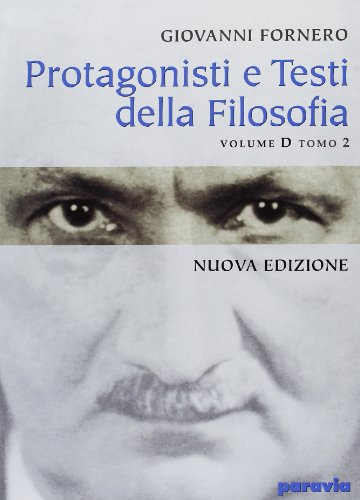 9788839533203: Protagonisti e testi della filosofia. Modulo D. Per le Scuole superiori: 2