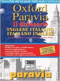 Oxford Paravia Inglese Italiano Italiano Inglese: Giovanni Iamartino