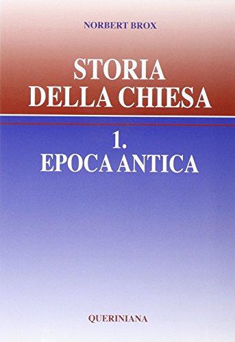 9788839900753: Storia della Chiesa vol. 1 - Epoca antica