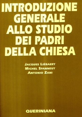 9788839901019: Introduzione generale allo studio dei Padri della Chiesa