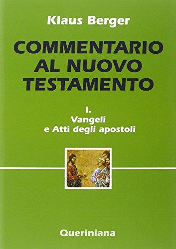 9788839901163: Commentario al Nuovo Testamento: 1