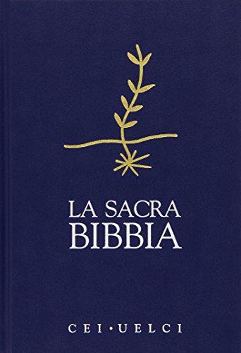 9788840180656: La sacra Bibbia. Versione ufficiale Cei