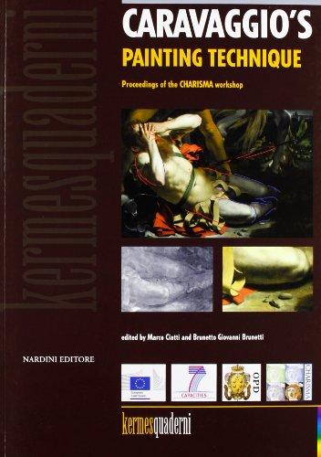 9788840443447: Caravaggio's painting technique. Ediz. illustrata