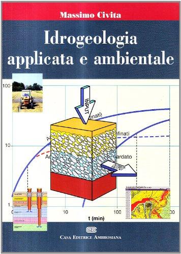 9788840812977: Idrogeologia applicata e ambientale