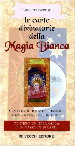 9788841215838: Le carte divinatorie della magia bianca. Con 40 carte