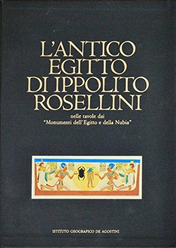 9788841504109: L'antico Egitto di Ippolito Rosellini