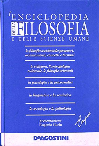 9788841525920: Enciclopedia Della Filosofia E Dell