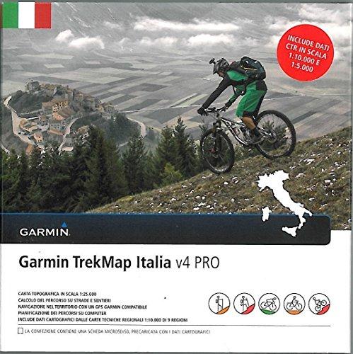 9788841555187: Italia TrekMap V4 PRO GARMIN 2015 de Italia