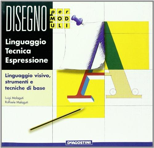 9788841593264: Disegno per moduli. Linguaggio, tecnica, espressione. Modulo A-B-C. Con quaderno. Per la Scuola media