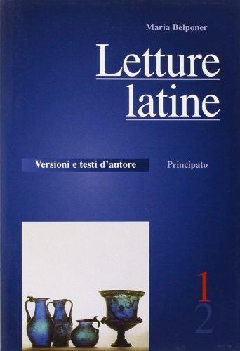 Letture latine. Con schede di verifica. Per: Belponer, Maria
