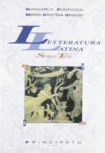 9788841621929: Letteratura latina. Storia e testi. Per le Scuole superiori
