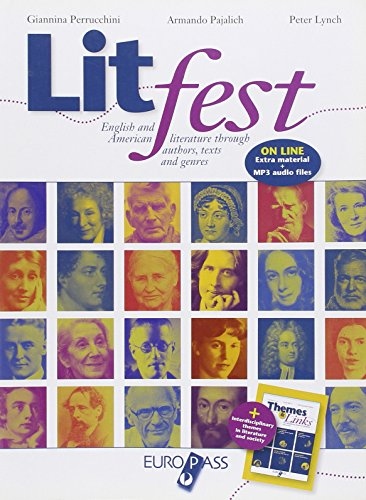 9788841645727: Litfest. English and american literature through authors, tests and genres. Con espansione online. Per le Scuole superiori