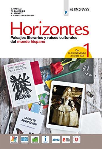9788841647653: Horizontes. Volume 1. Con CD mp3 e portfolio [Lingua spagnola]: Vol. 1
