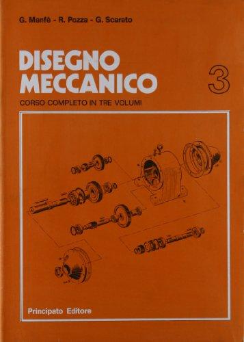 9788841665732: Disegno meccanico. Per le Scuole superiori: 3