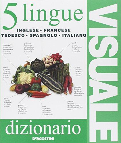 9788841859452: Dizionario visuale in 5 lingue. Inglese, francese, tedesco, spagnolo, italiano