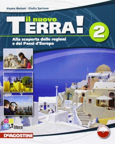 9788841860892: Il nuovo terra. Per la Scuola media! Con espansione online: Nuovo Terra 2+Atalante +CD-ROM