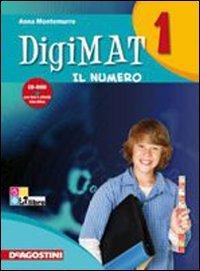 9788841860977: Digimat. Per la Scuola media. Con CD-ROM: 1