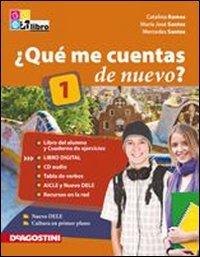 9788841865194: ¿Qué me cuentas de nuevo? Libro del alumno-Cuaderno de ejercicios. Con espansione online. Con 2 CD Audio. Per le Scuole superiori.
